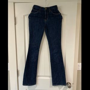 Current/Elliot High Waisted Flare Jeans